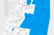 Wilda - ulice, na których będą pobierane opłaty od 1 lutego 2021.