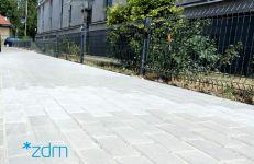 Wyremontowany chodnik na ul. Średniej