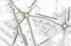Budowa Nowej Obornickiej zgodnie z propozycjami będzie odbywała się etapami