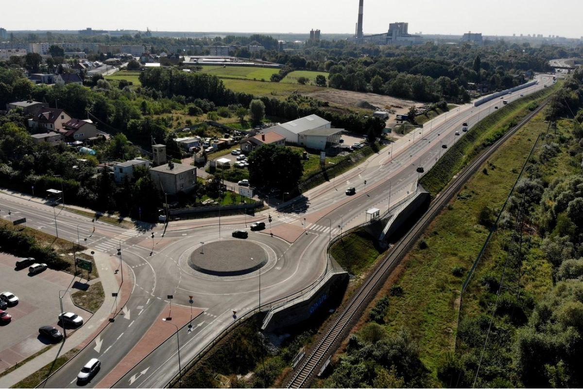 Ulica Gdyńska w pełni przejezdna