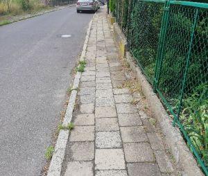 Remont chodnika na ul. Goleszowskiej