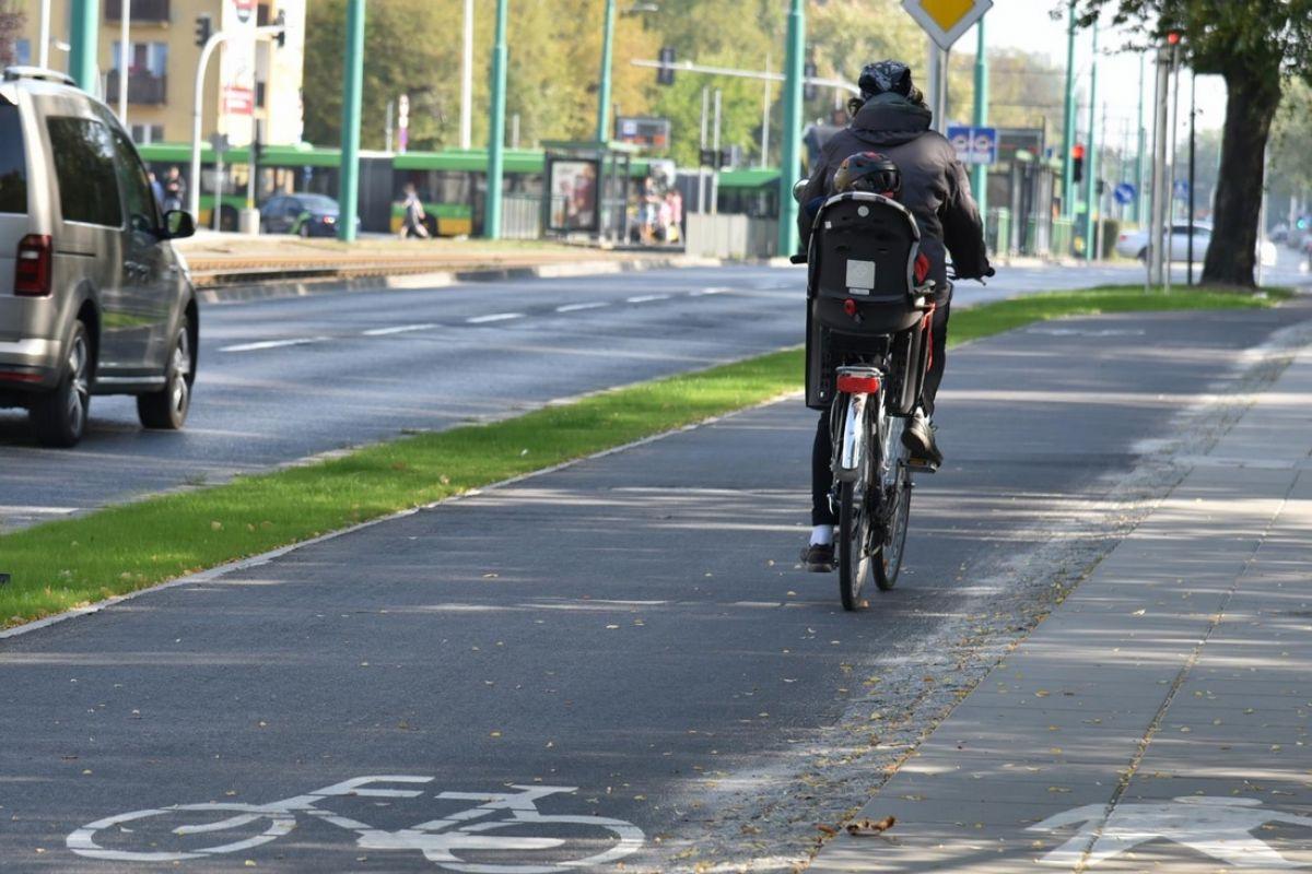 Droga rowerowa wzdłuż ul. Grunwaldzkiej