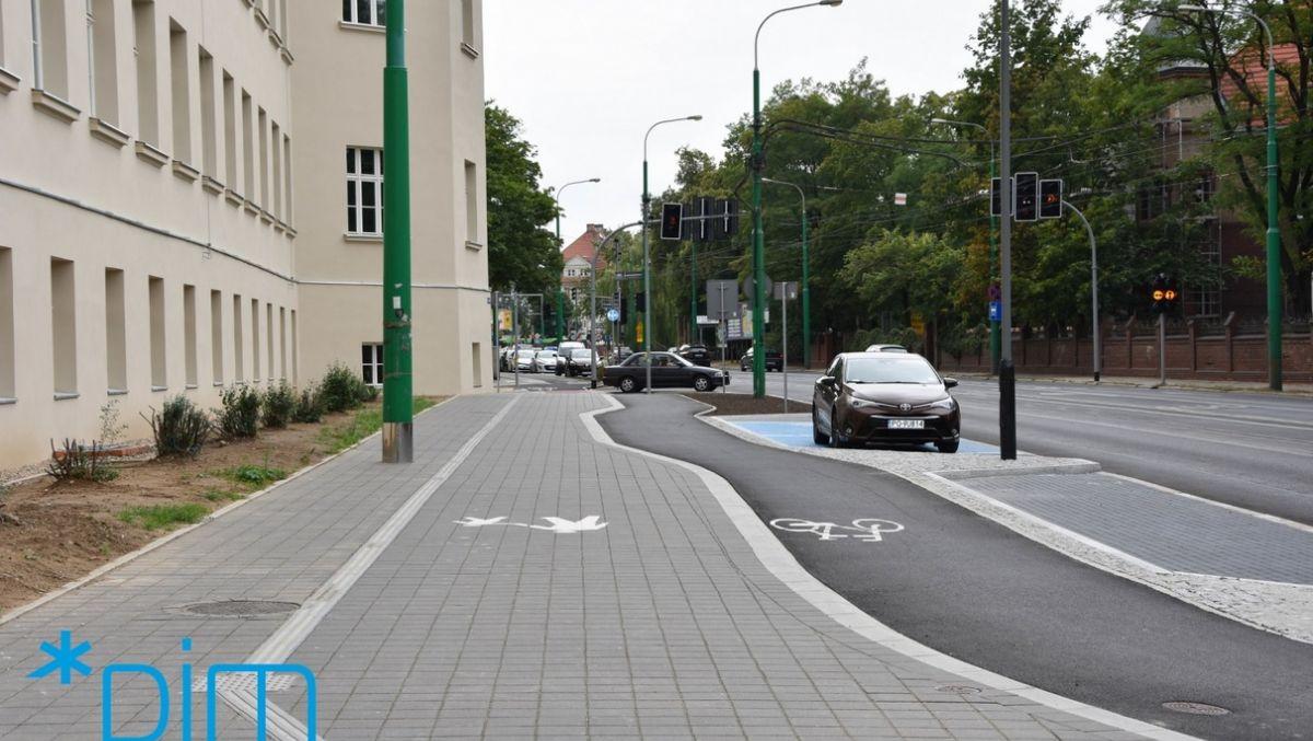 Budowa dróg rowerowych wzdłuż ul. Grunwaldzkiej na finiszu
