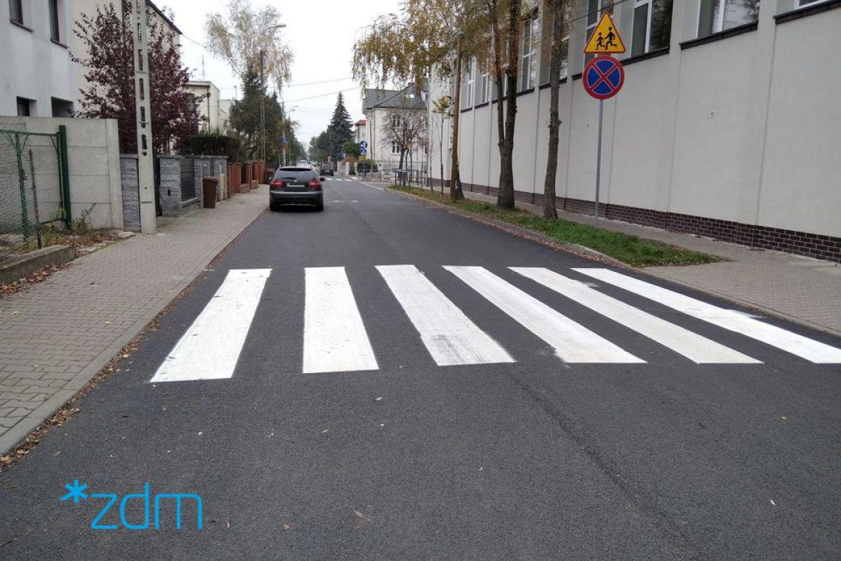 Ulica Inowrocławska po odbiorze