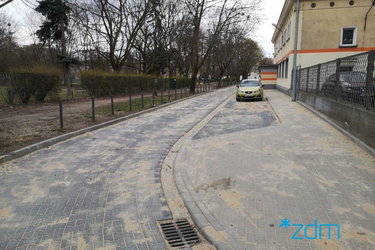Droga do przedszkola na Łazarzu już gotowa