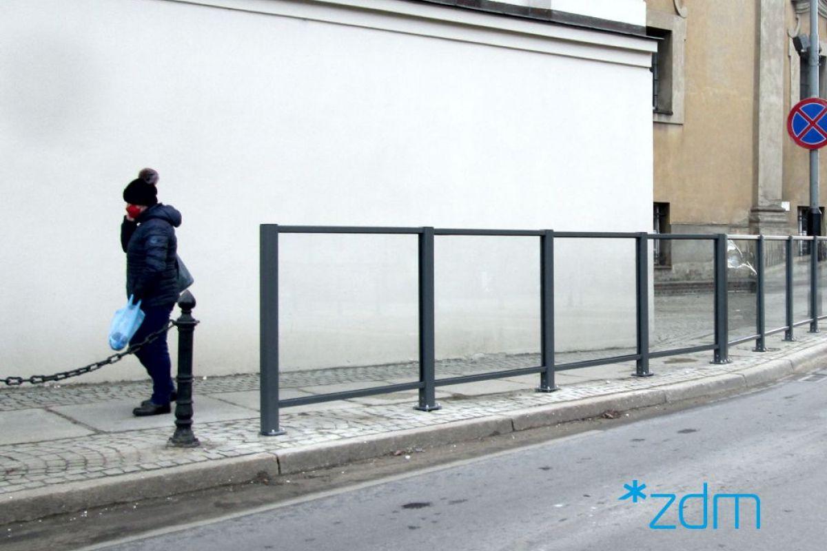 Dla ochrony pieszych