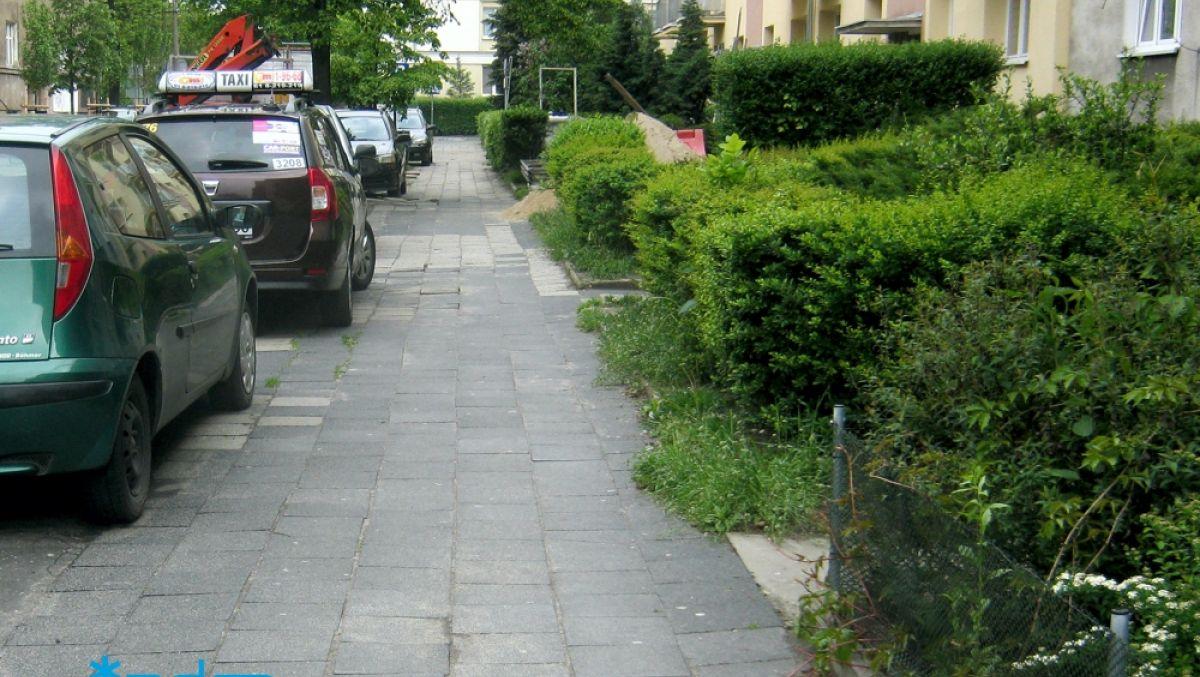 Od poniedziałku remont chodnika na ul. Wojskowej