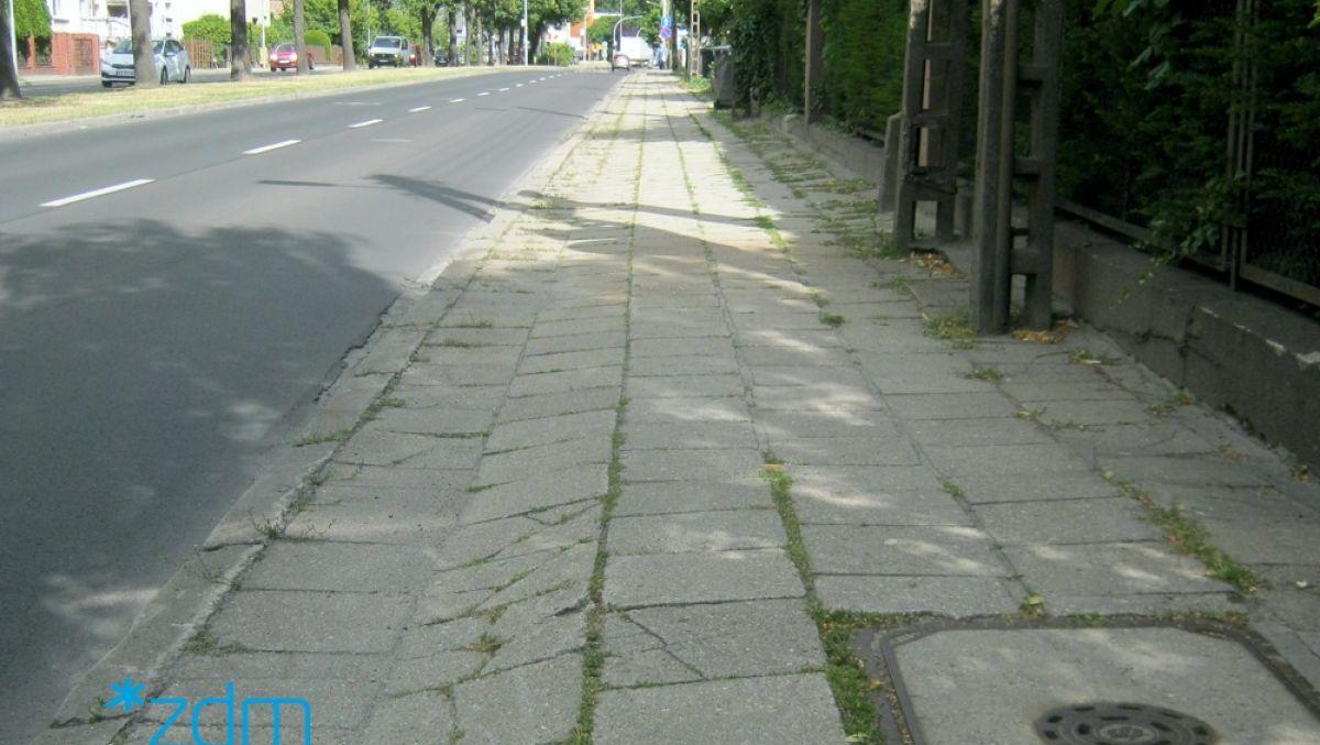 Remont chodnika na ul. Grochowskiej