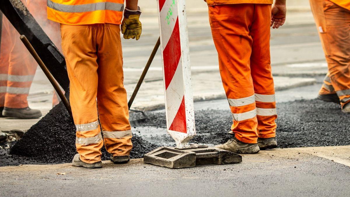 Piątkowe prace na ulicach