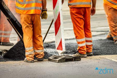 Poniedziałkowe prace na poznańskich ulicach