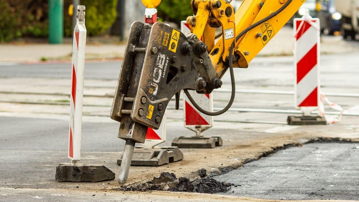 Poniedziałkowe remonty ulic