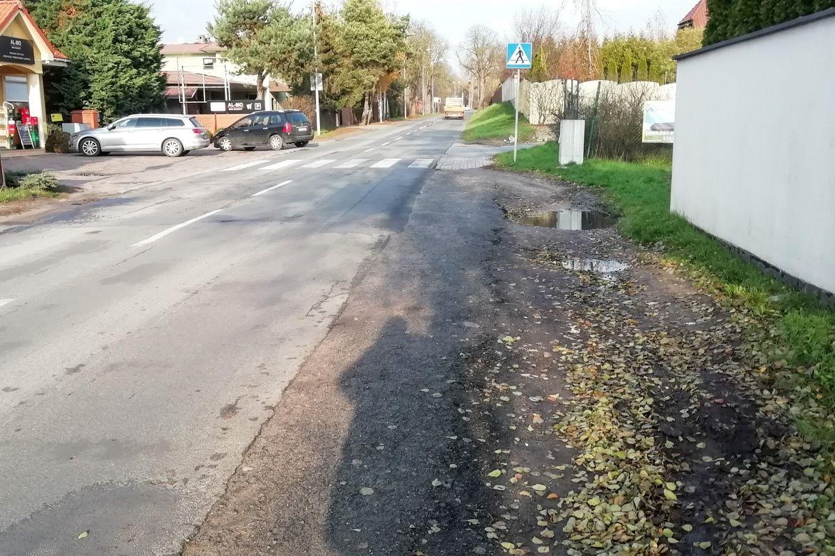Pięć ofert w przetargu na budowę chodnika wzdłuż ul. Morasko