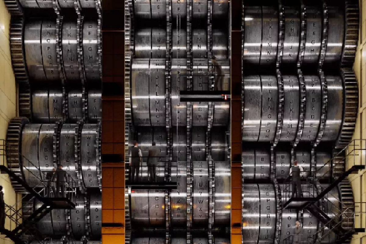 Otwarcie Centrum Szyfrów Enigma