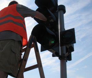Awarie sygnalizacji świetlnych