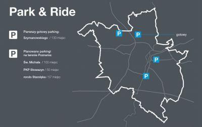 Wybrano wykonawcę dla trzech kolejnych parkingów Park&Ride