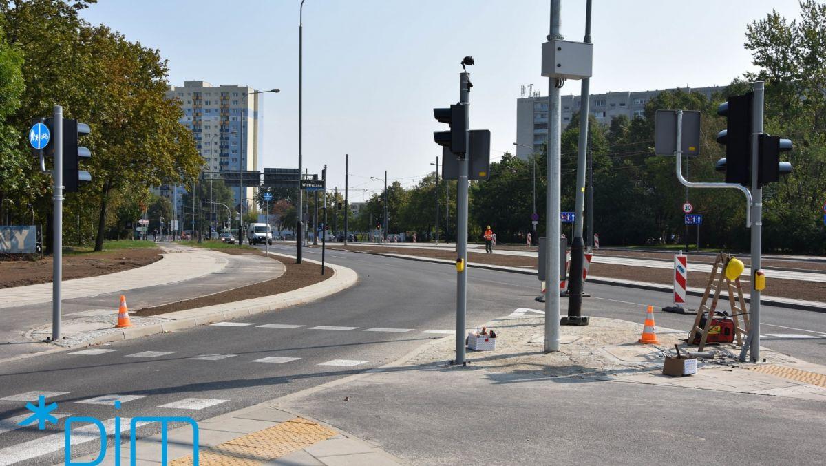 GTR: prace drogowe na kolejnym fragmencie ul. Chartowo