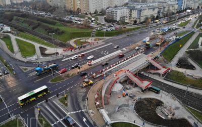 Zmiana organizacji ruchu na remontowanym wiadukcie PST Szymanowskiego na Piątkowie