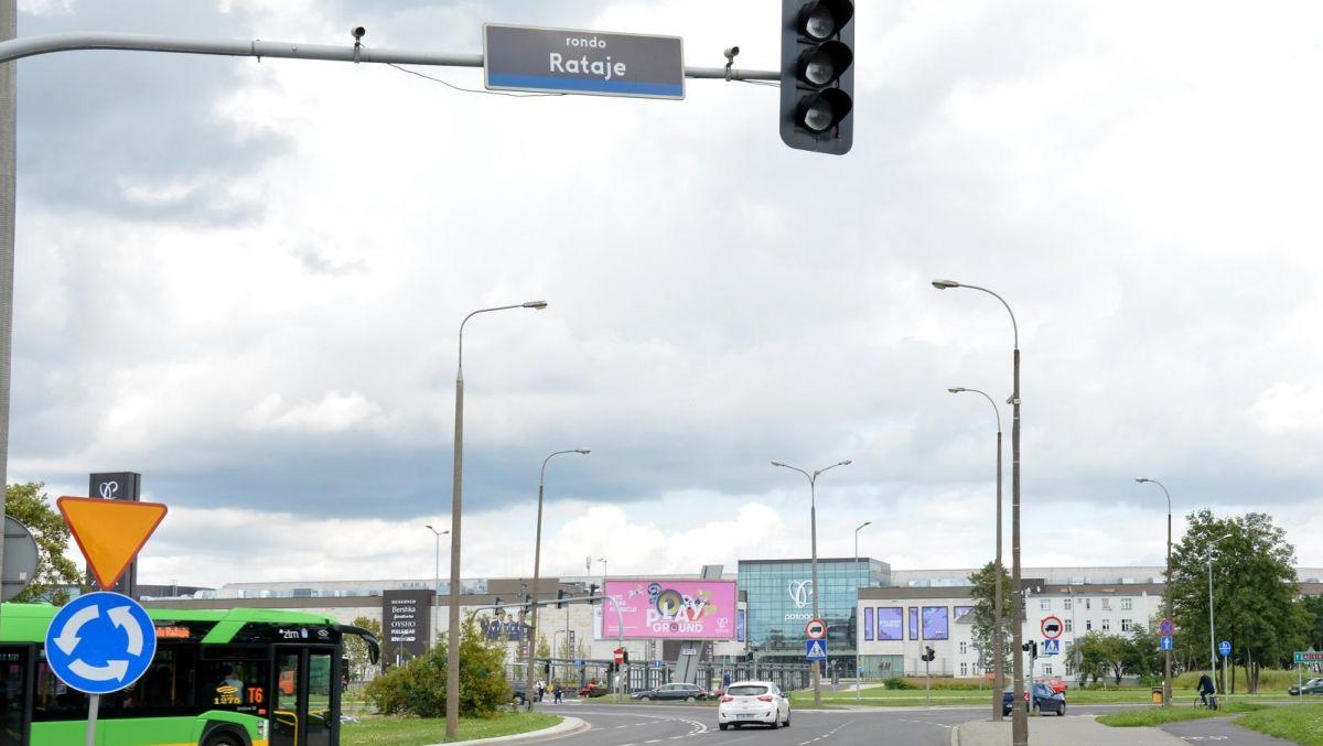 Zielone światło dla przebudowy ronda Rataje