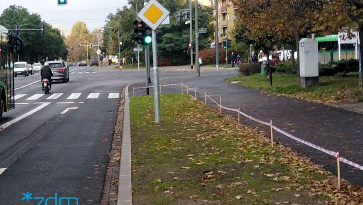 Przywrócenie zieleni na poboczu ulicy Słowiańskiej