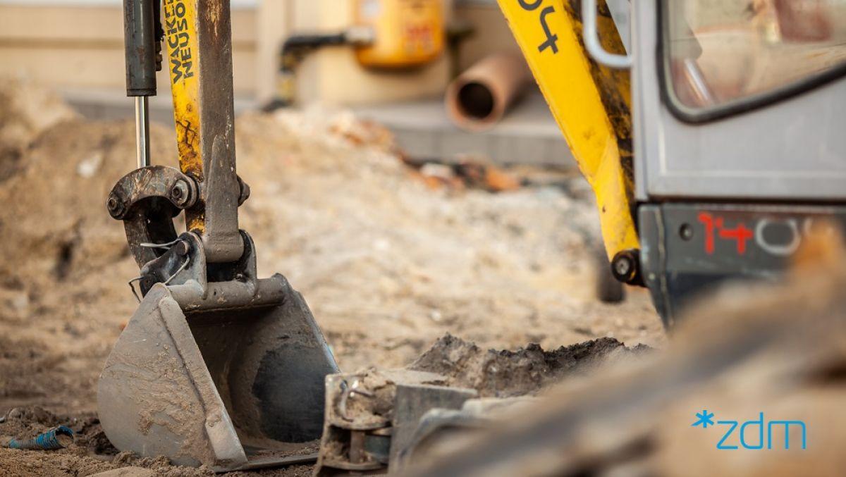 Budowa sieci sanitarnej w rejonie ul. Biskupińskiej