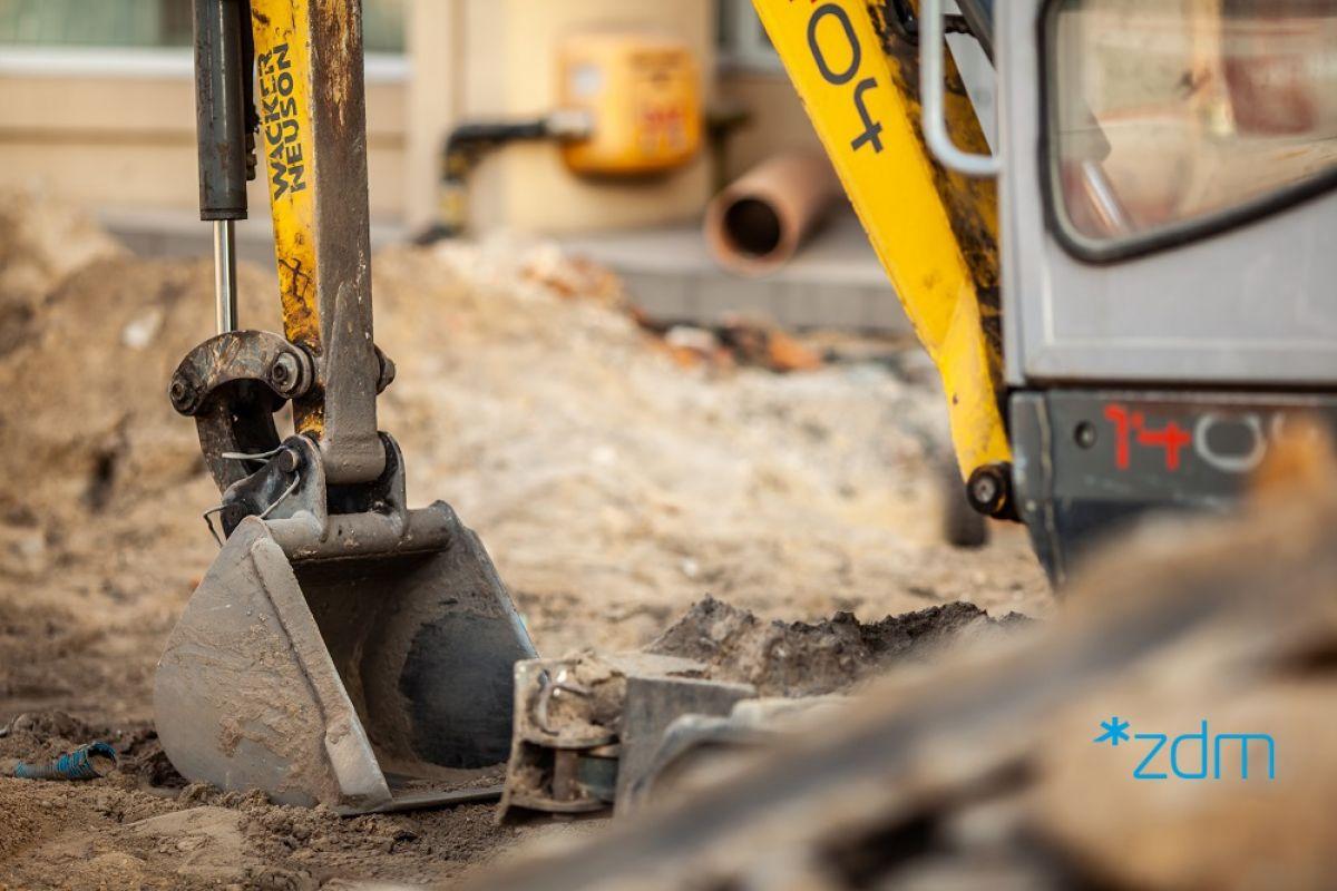 Budowa przyłącza cieplnego na ul. Druskienickiej - Aktualizacja