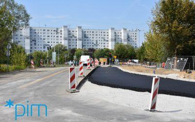 Przebudowa drogi w ciągu ul. Szwajcarskiej: zmiany w organizacji ruchu