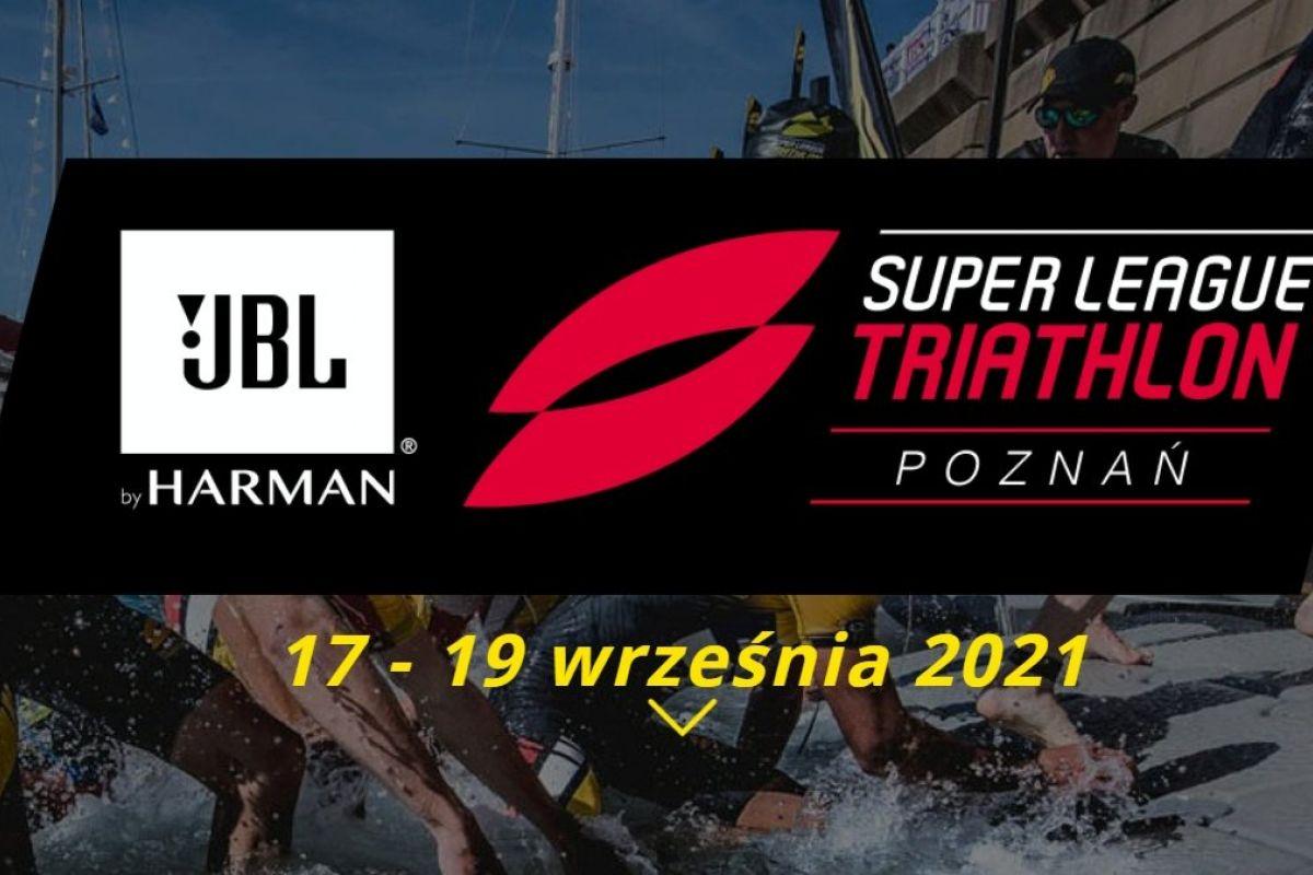 Plakat Super League Triathlon Poznań