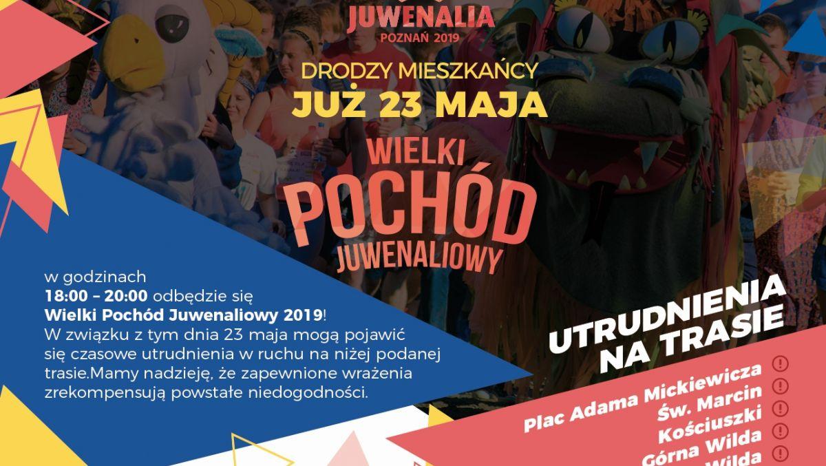 W czwartek początek Juwenaliów i zmiany w organizacji ruchu