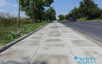 Wyremontowaliśmy chodniki na ulicach Sadnickiej i Wołczyńskiej