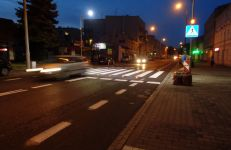 Aktywne przejście na ul. Głównej