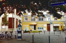 Zieleń i mała architektura przy ul. Masztalarskiej