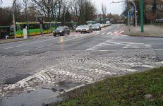 Przy okazji zamknięcia ruchu tramwajów do pętli Piątkowska wyremontujemy nawierzchnię na skrzyżowaniu ul. Pułaskiego z al. Wielkopolską