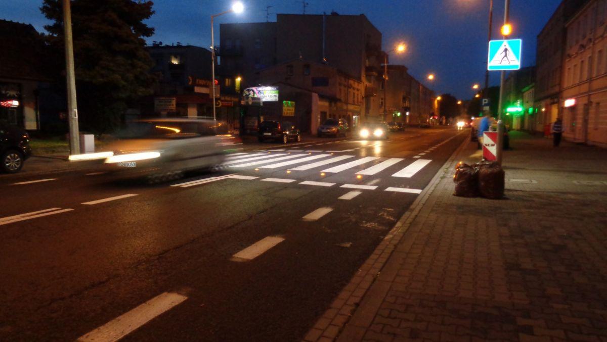 Aktywne przejście dla pieszych już działa
