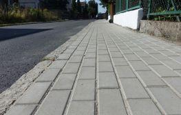 Remont chodnika na Goleszowskiej zakończony