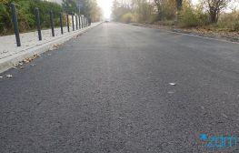 Nowa nawierzchnia jezdni na ulicy Hezjoda