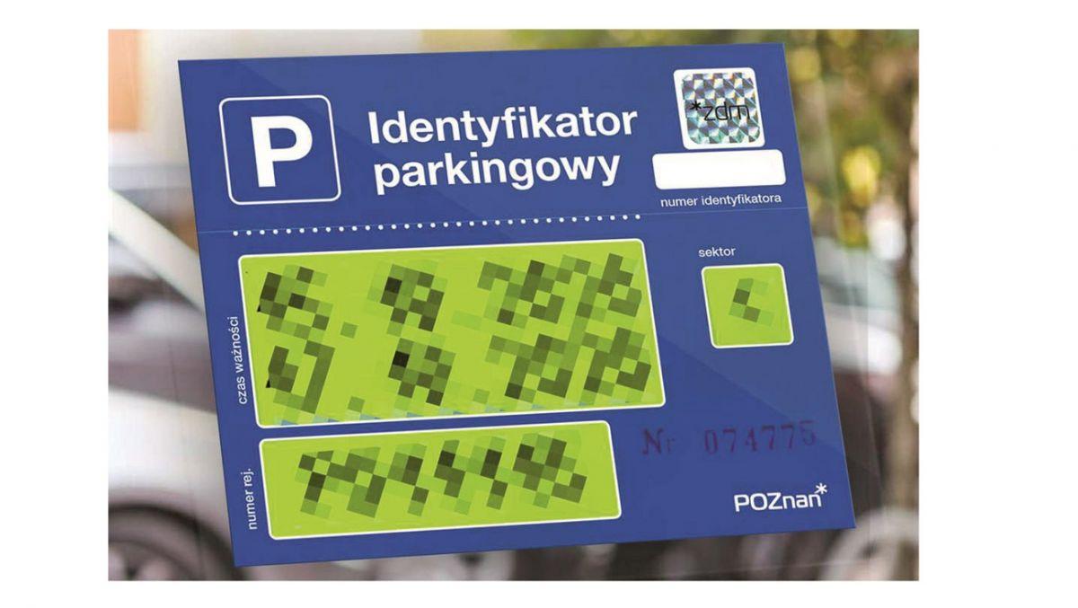 Identyfikator parkingowy dla mieszkańców Śródki, Zagórza i Ostrowa Tumskiego
