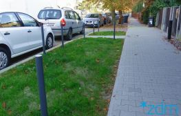 Ulica Saperska przyjazna pieszym