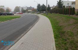 Ziębicka z wyremontowanym chodnikiem