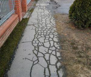 Wyremontujemy chodnik na ul. Człuchowskiej