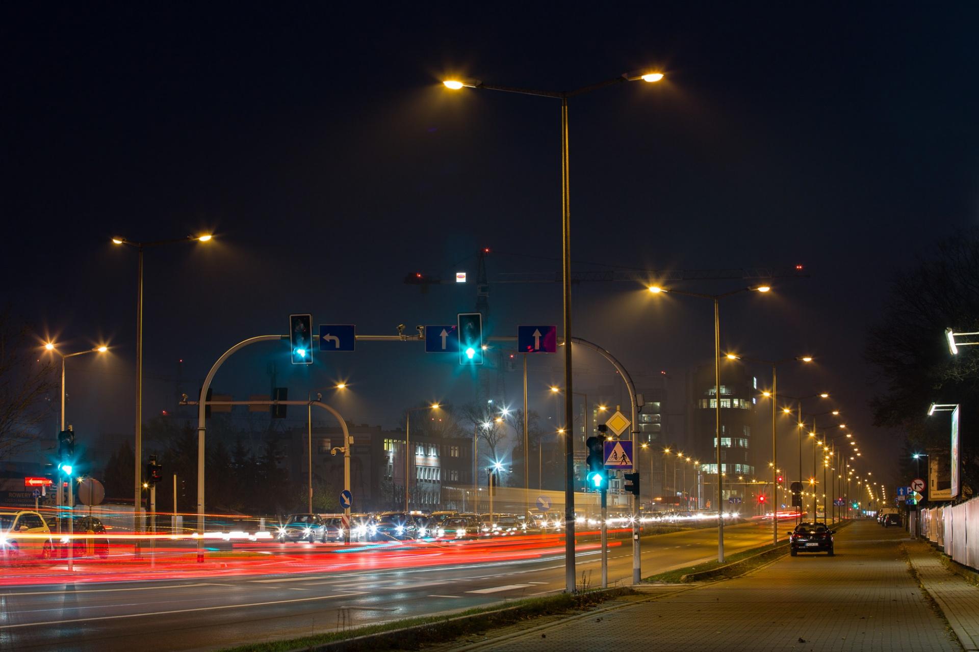 Liczniki czasu na sygnalizatorach świetlnych