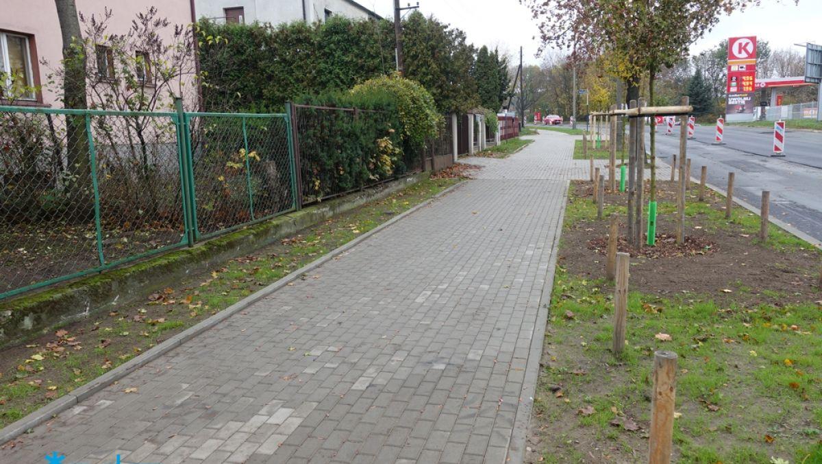 Wyremontowaliśmy kolejną część chodnika na ulicy Czechosłowackiej