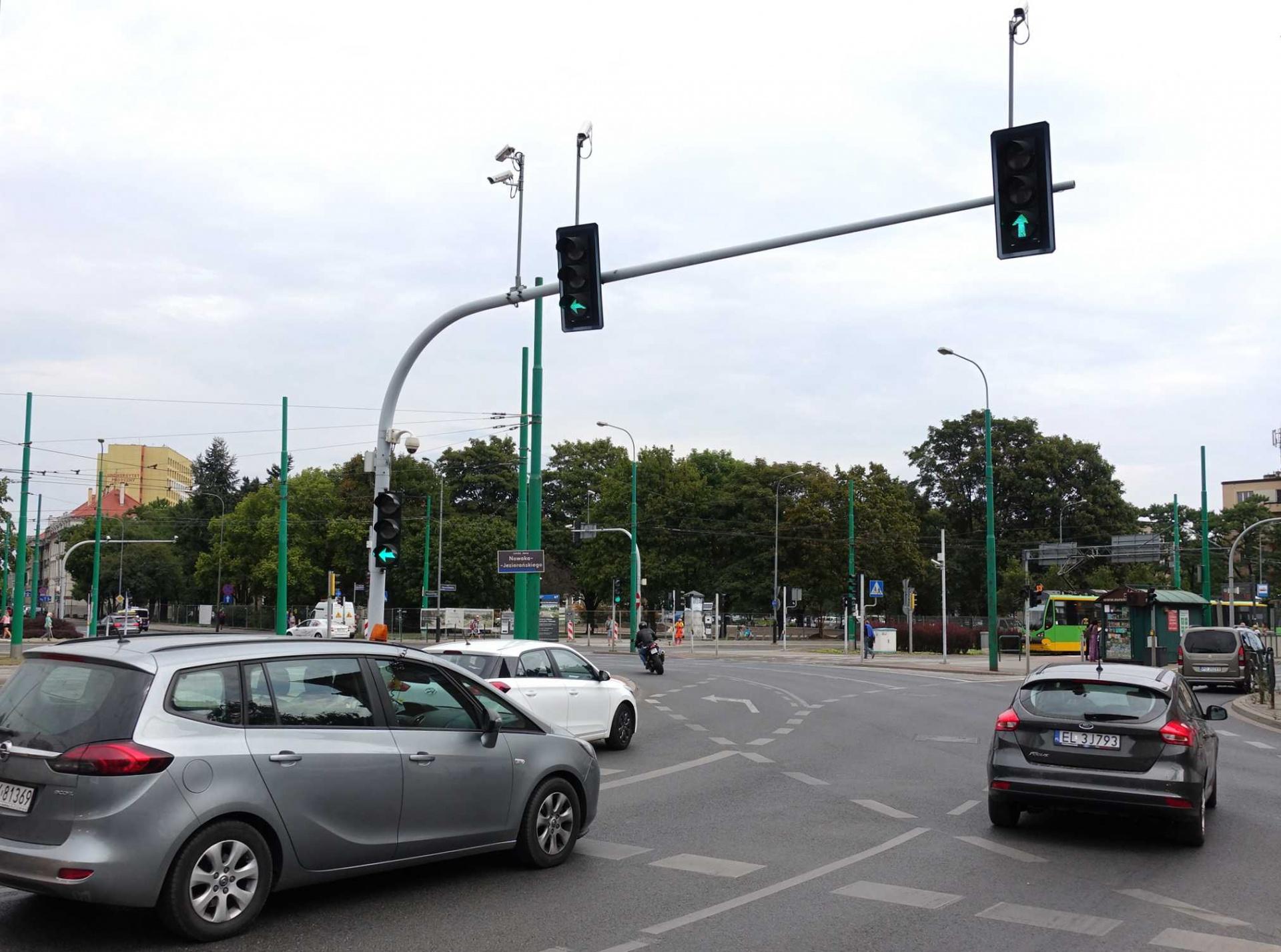 Sygnalizacja zjazdowa na rondach