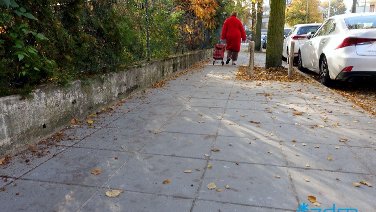 Wyremontowaliśmy chodnik na ulicy Iłłakowiczówny