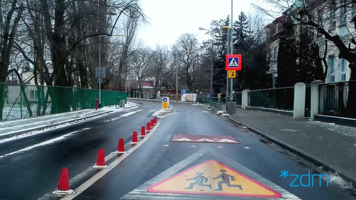 Bezpieczniejsze dojście do szkoły przez ul. Fabianowo