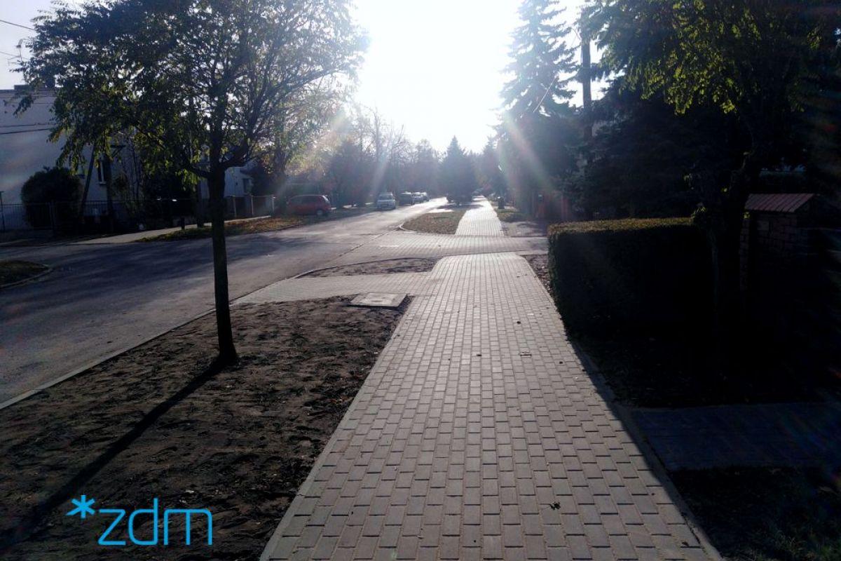 Wygodniej dla pieszych na ul. Goplańskiej
