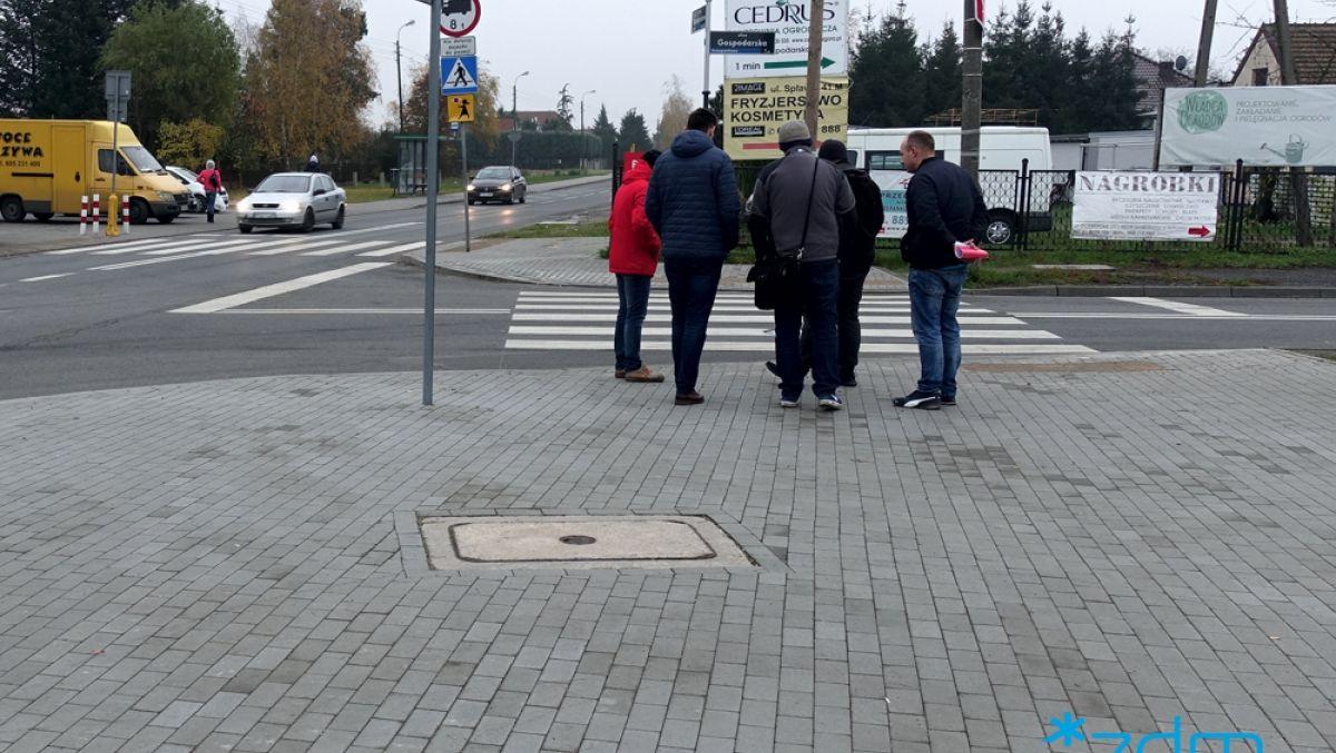Z myślą o pieszych na ulicach Gospodarskiej, Szczepankowo i Bobrownickiej