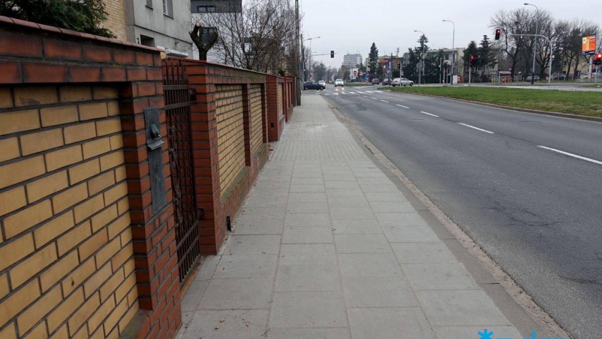 Wyremontowaliśmy chodnik na ulicy Grochowskiej