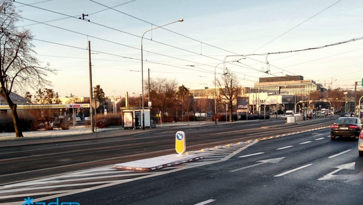 By samochody nie blokowały tramwajów
