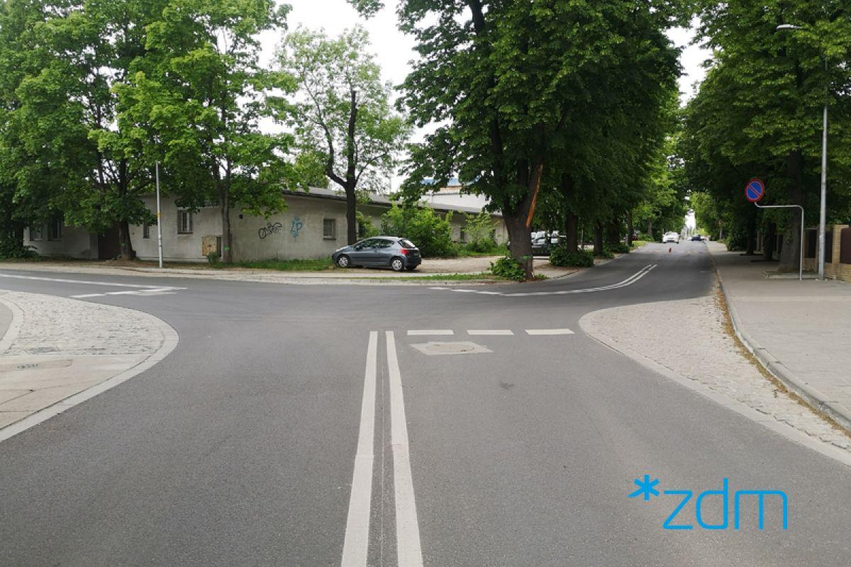 Zakończyliśmy przebudowę skrzyżowania ul. Karpiej i Dworskiej