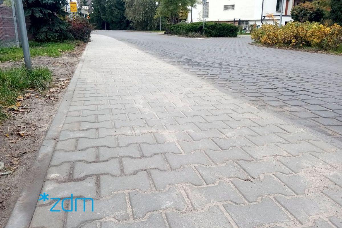 Wyremontowaliśmy chodnik na ulicy Krajeneckiej